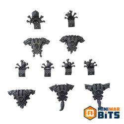 Space Wolves Wulfen Backpack Bits