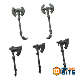 Space Wolves Wulfen Frost Axe Bits