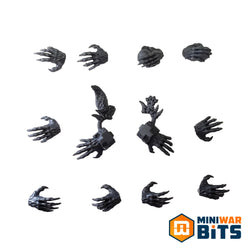 Space Wolves Wulfen Hand Bits