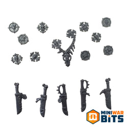 Space Wolves Wulfen Knife & Accessory Bits