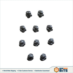 Tactical Squad Head Bits