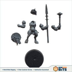 Ungor Raider W/ Shortspear Or Handheld Blade Single Figure Bits