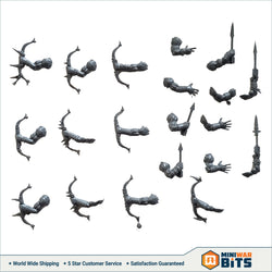 Ungor Raiders Bow & Arrow Bits