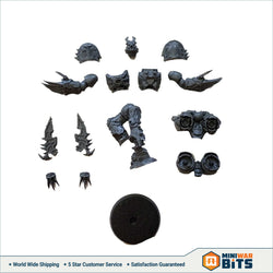 Warp Talons Single Figure Bits