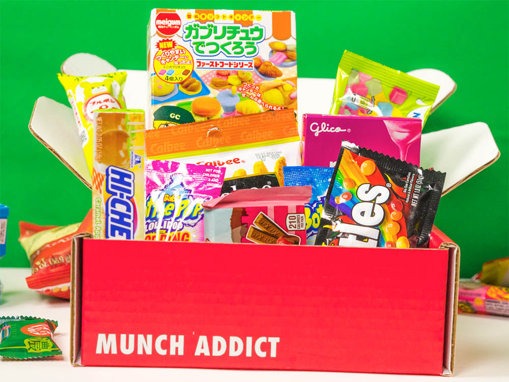 Munch Addict Snack Crate Possibilities