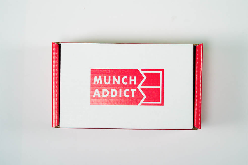 Munch Addict Snack Box Shipping Crate