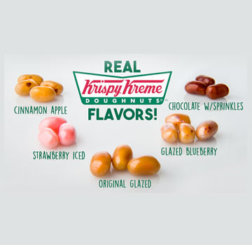 Krispy Kreme Jelly Bean - Jelly Belly