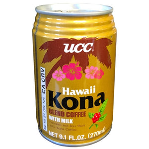 UCC Hawaii Kona Blend Coffee with Milk