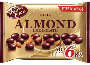 Lotte Almond Chocolate 6P