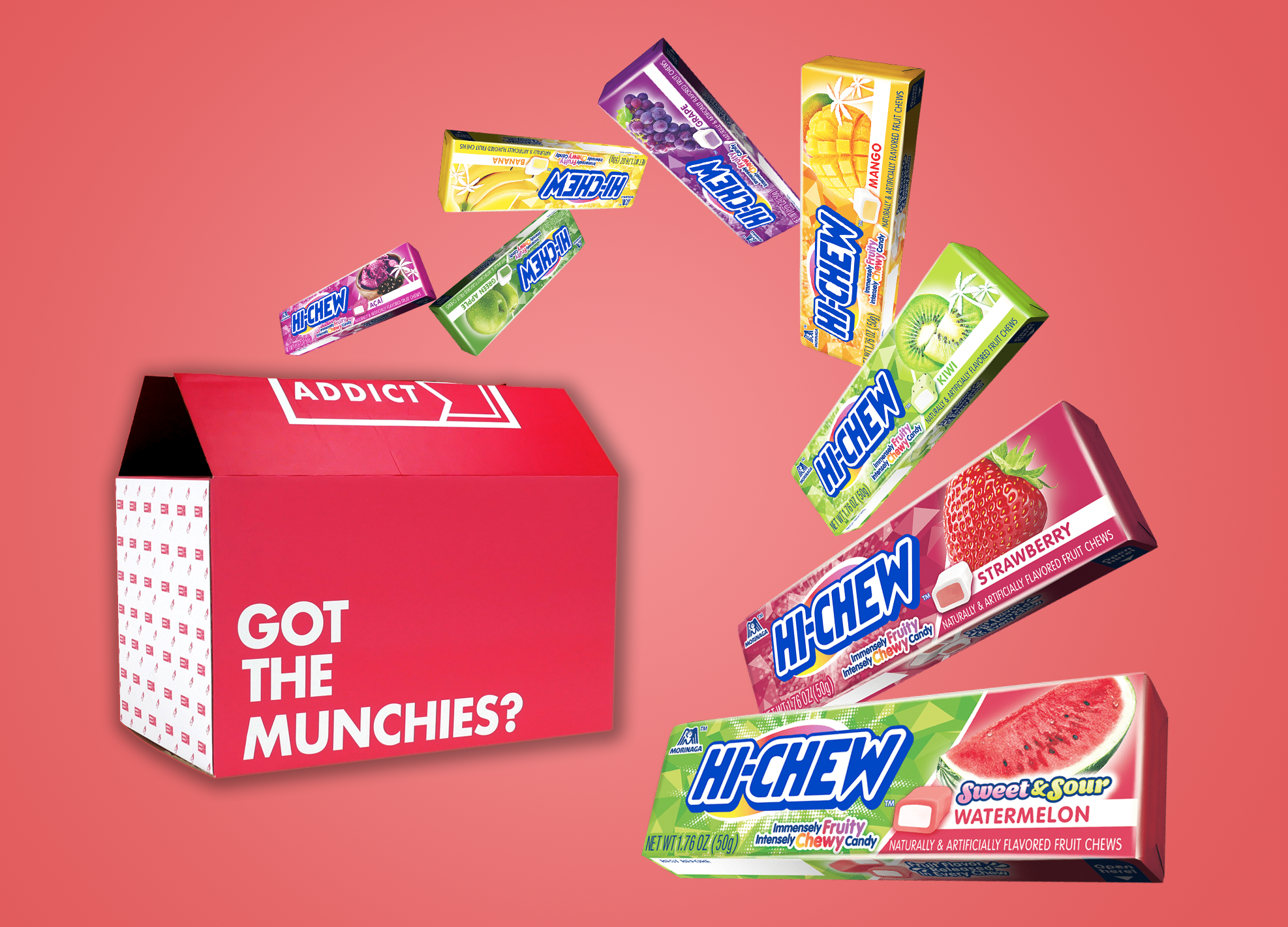 (ML) Hi-Chew Flavor Pack (8 Bars)