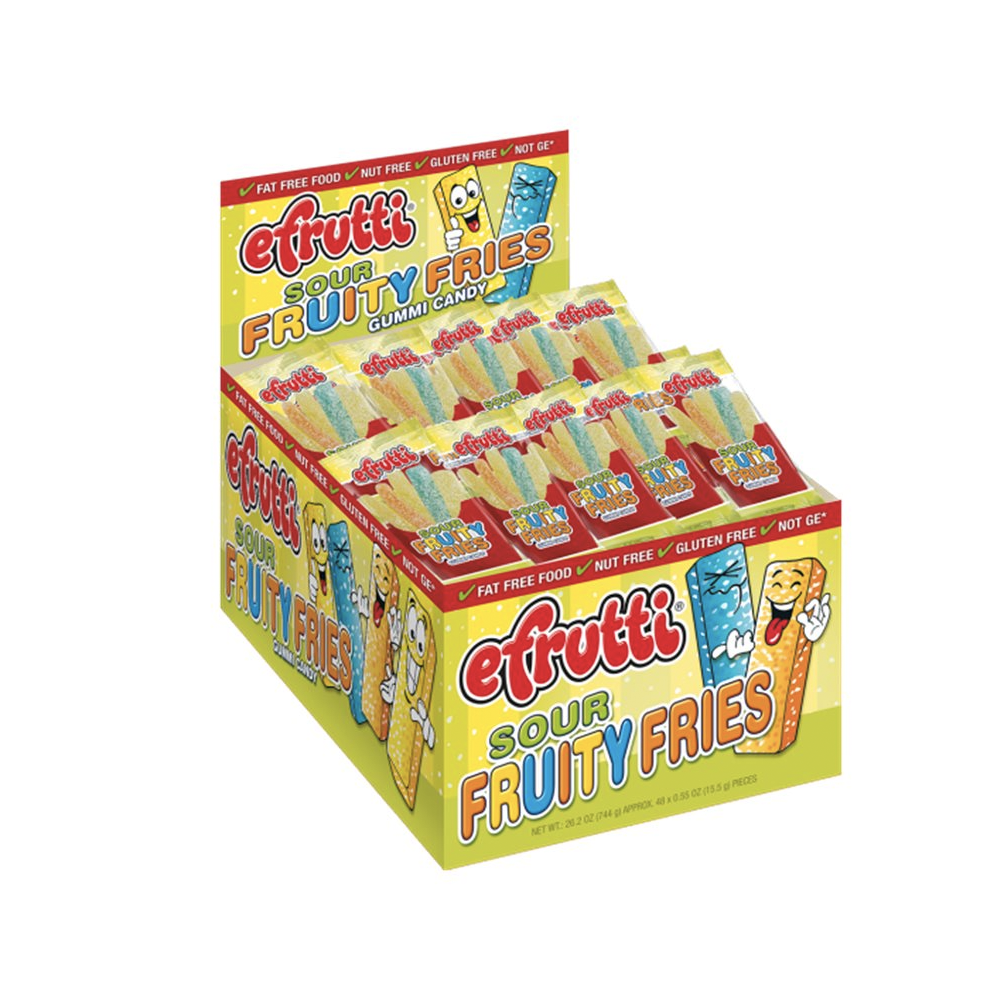 eFrutti Sour Fruity Fries Box