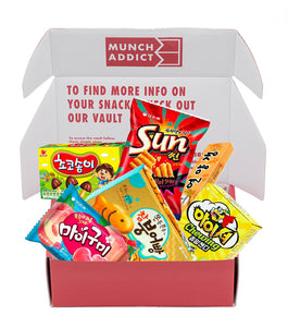 Korea Box - Standard (6 Snacks) Prepaid 3 Months