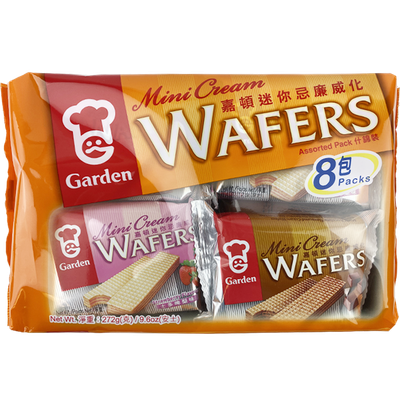 Garden Mini Cream Wafers