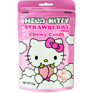 Hello Kitty Chewy Candy - Strawberry Flavor