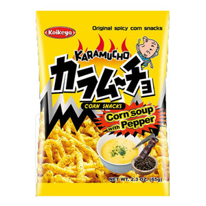 Koikeya Karamucho - Original Spicy Corn Snacks