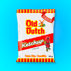 5x Old Dutch Ketchup Chips (40g)
