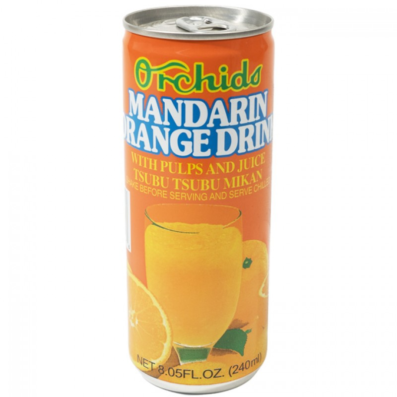 Orchids Mandarin Orange Drink