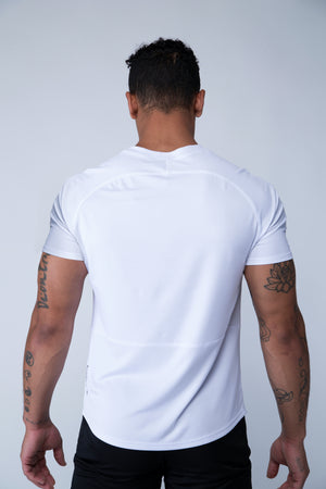Purpose Tee - White - Back