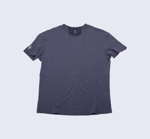 Origin Tee - Dark Shadow - Flat Lay Front