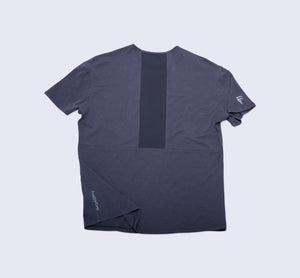 Origin Tee - Dark Shadow - Flat Lay Back