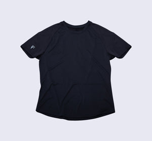 Purpose Tee - Black - Flat Lay Front