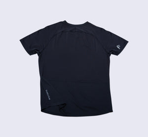 Purpose Tee - Black - Flat Lay Back