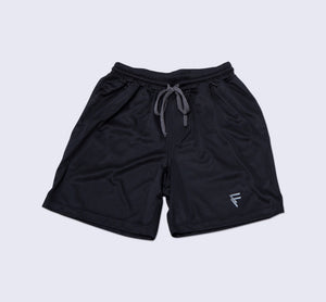Origin Shorts - Black - Flatlay