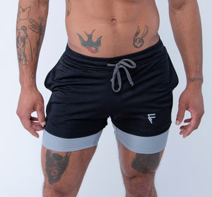 Purpose Shorts - Black - Front