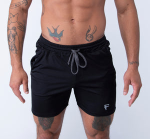 Origin Shorts - Black - Front