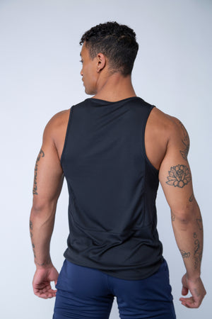 Purpose Tank - Black - Back