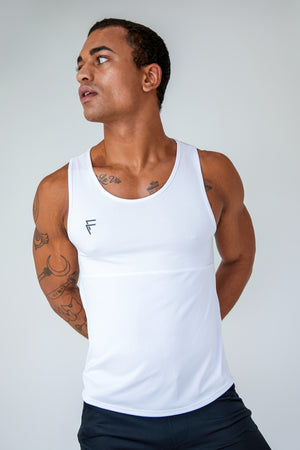 Purpose Tank - White - Front