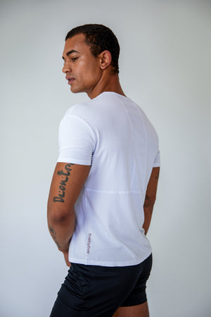 Origin Tee - White - Side