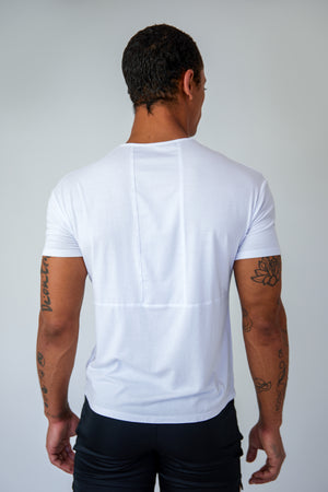 Origin Tee - White - Back