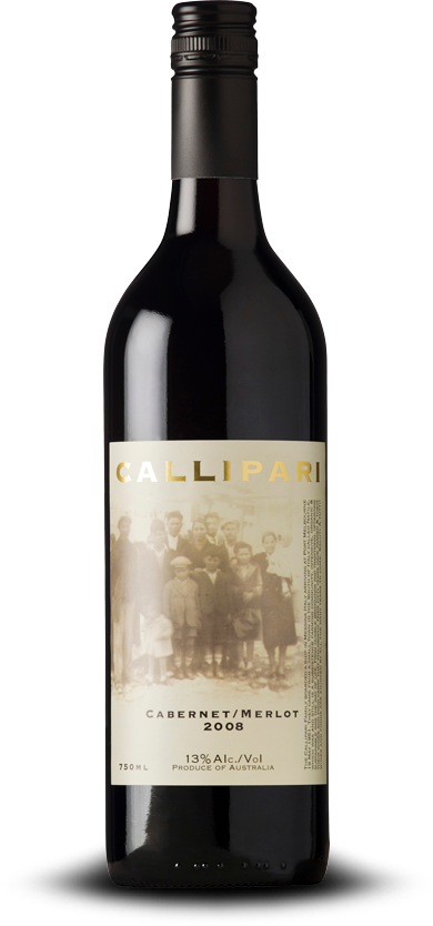 Callipari Wines Cabernet Merlot Australian Red Boutique Wine