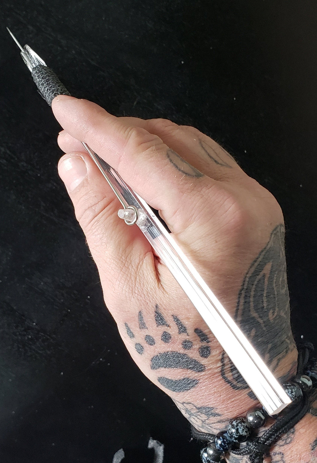Hand Poke and Stick Tattoo kit,The Tattoo Stick, Stick too Poke Tattoo Stick, Free Instructions