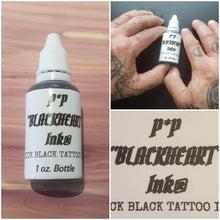 Load image into Gallery viewer, Hand Poke Tattoo Ink,  size 1 oz. bottles Tattoo Ink,  Stick Too Poke Tattoo Ink,  Made in USA.