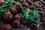 Blackberry Barbecue Meatballs