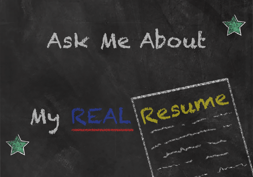 What's in your Real Resume?