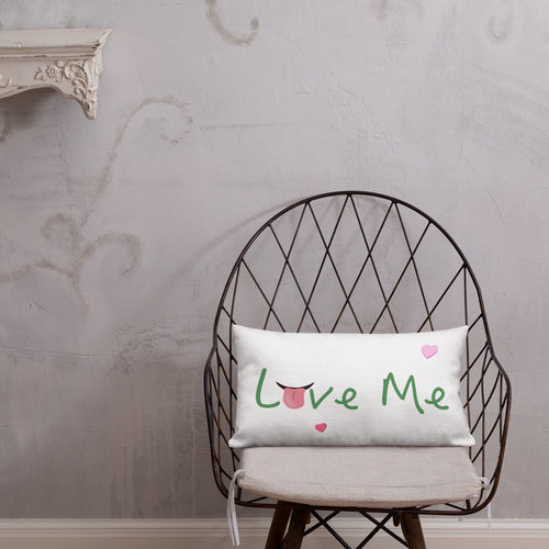 Life Rocketed Love Me pillow