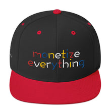 Load image into Gallery viewer, Life Rocketed Monetize Everything Snapback Hat