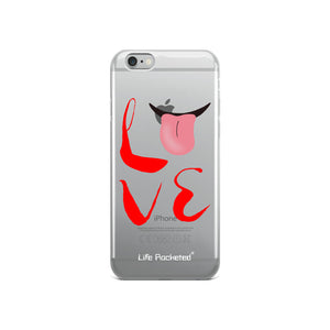 Life Rocketed Love iPhone case