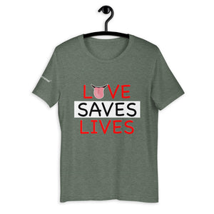 Love Saves Lives tee - men