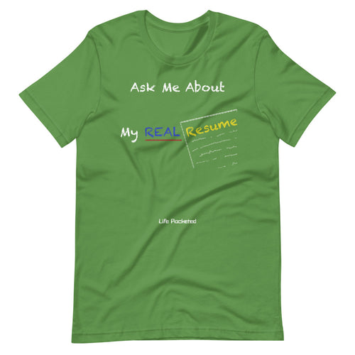 Real Resume T-Shirt