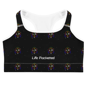Outer Space Logo Sports bra