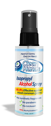 Clean Hands Sanitizing Spray