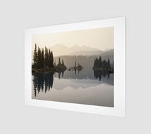 Load image into Gallery viewer, Smokey sunrise over Garibaldi Lake (Garibaldi Provincial Park) Art Print