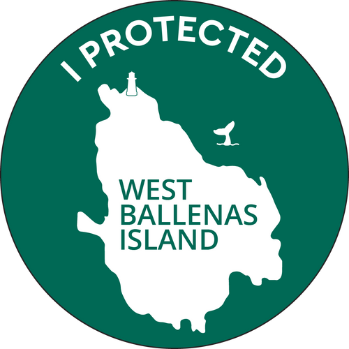 West Ballenas Island Sticker