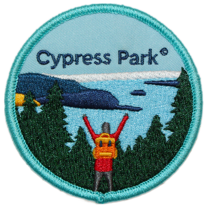 BC Parks Foundation Cypress Park patch