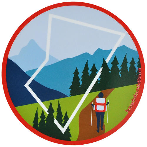 Hiking Sticker