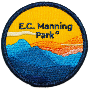 BC Parks Foundation E.C. Manning Park patch